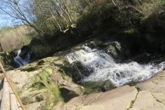 Glenbarrow Waterrfall in the Slieve Bloom Mountains