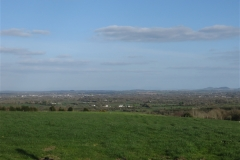 View from the Rock of Dunamaise